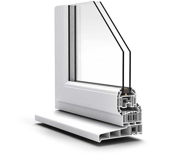 Casement window profile