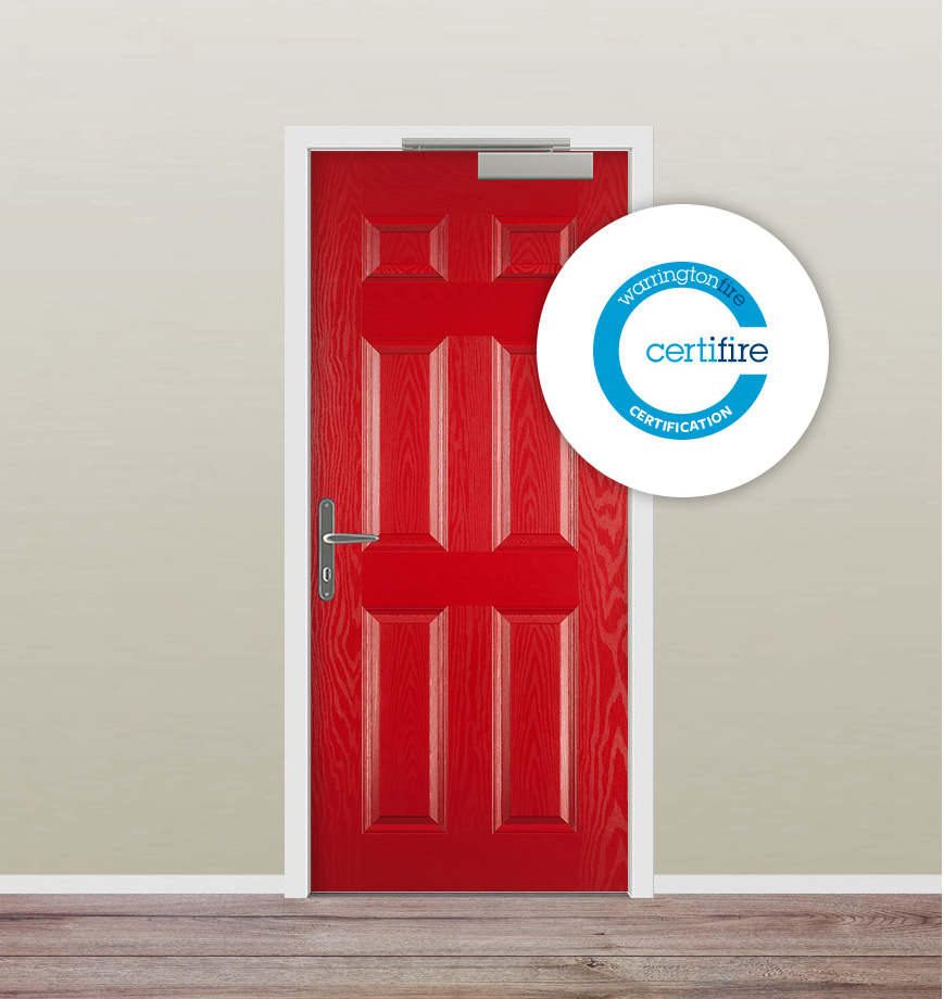 Fire doors single product certification