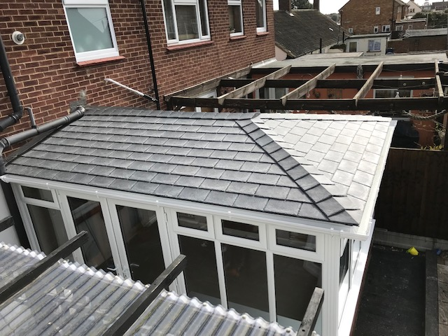 SupaLite Grey roof