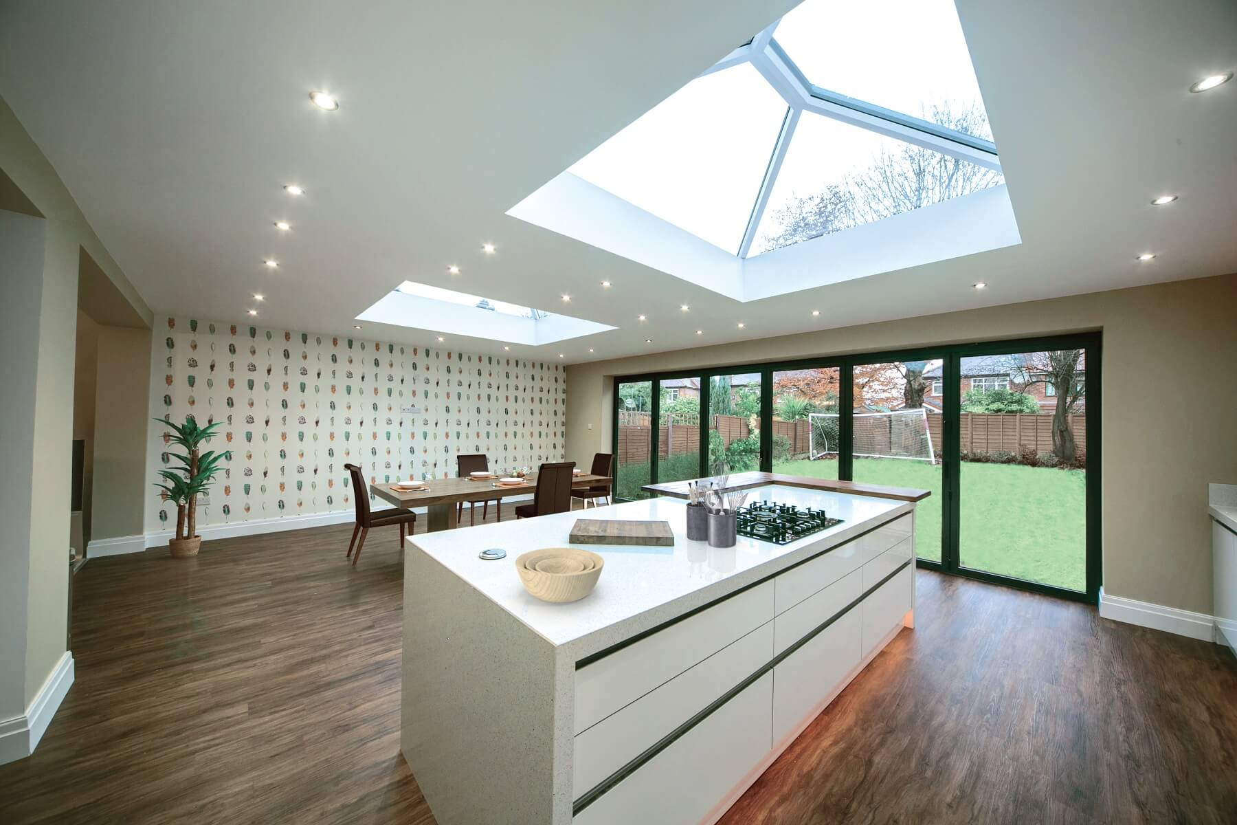 Ultrasky lantern roof extension