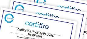 Door Stop standard regulations certificate