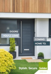 Front cover of the Solidor Brochure
